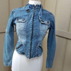 YOUNIQUE Women's Denim Jacket